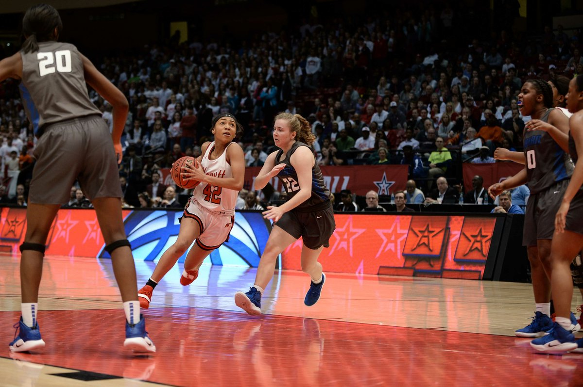 Kirk S Late Free Throws Lift Lady Huskies To 1st State Final