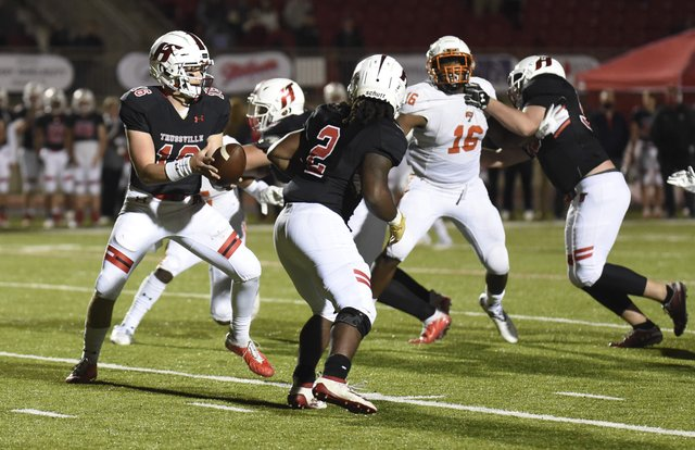 Hoover at HTHS football