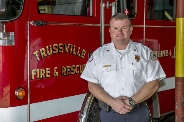 Fire Chief Tim Shotts