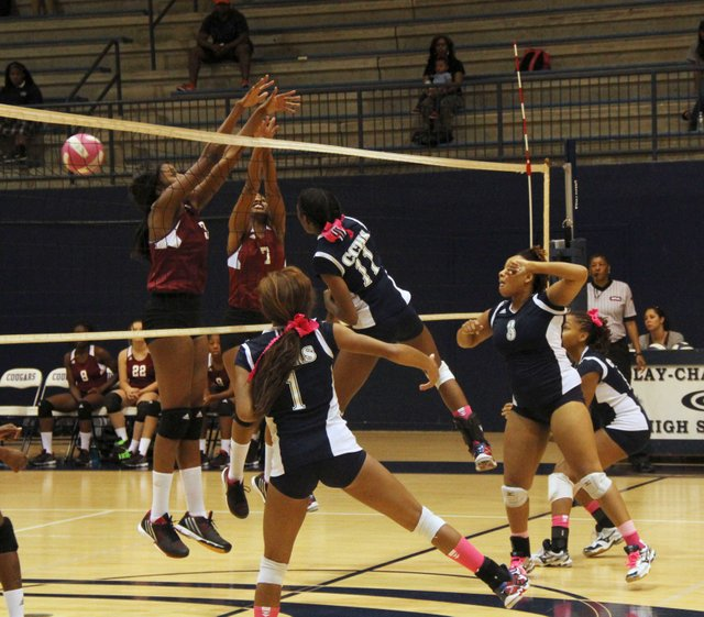 Clay-Chalkville volleyball